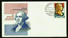 CHILE TRIBUTE TO USA BICENTENNIAL FIRST DAY COVER GEORGE WASHINGTON NICE 2 FRAME