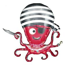 Party Supplies Boys  Birthday PiratePirate Octopus Foil Balloon
