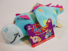 "Little 5"" FLIPZEES Flipazoo Stuffed Animal Popcorn Unicorn Jellybean Dragon New"