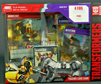Transformers Bumblebee VS Megatron 2-Player Starter Set Trading Card Game