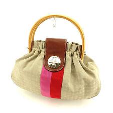 Kate Spade Handbag Beige Pink Woman Authentic Used Y6348