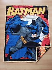 Batman Patchwork Blanket - Baby Child Quilt Throw Homemade