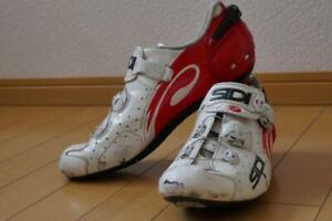 SIDI WIRE Road Bike Shoes SPD-SL 44 Size 28cm 10 Bicycle BMX Road Bike Used