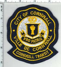 City of Cornwall Transit (Canada) Shoulder Patch from the 1980's
