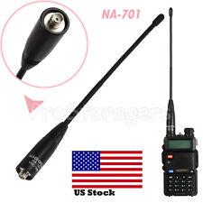 For Baofeng BF-888S Nagoya NA-701 Antenna SMA Female VHF/UHF High Gain Radio