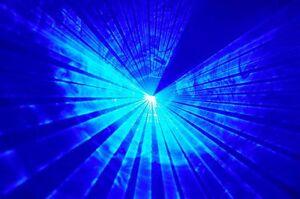 Powerful Willi Pro 300 mw BLUE Disco Laser Light dj nightclub pub karaoke party