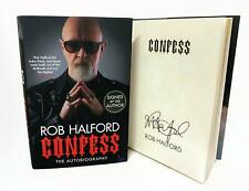 Signed Book - Confess by Rob Halford from Judas Priest First Edition 1st Print