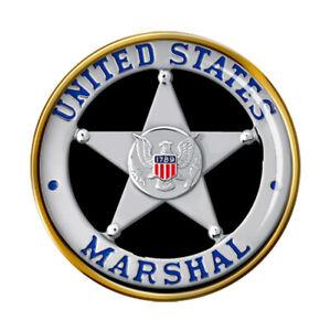 U.S. Marshal Pin Badge