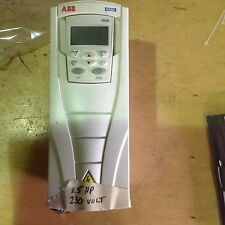 ABB ACX550-U0-06A6-2P901 1.5 HP 240 VOLT 3 PHASE VFD