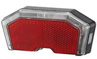 Union Batterie LED Fahrrad Rücklicht UN-4460 für Gepäckträger 50 und 80 mm
