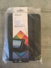 "Polaroid 7"" Universal Padded Tablet Case Cover Black BRAND NEW"