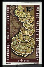 Cameroun Polypore Champignon Parasite Mushrooms Pilze Non Dentele Imperf ** 1975