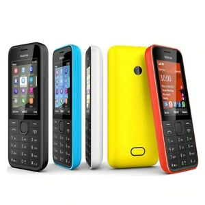 NOKIA 208 Single Sim Version Phone GSM Good Quality Unlocked