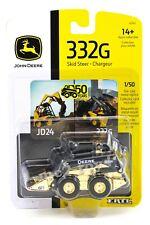 2020 ERTL 1:50 JOHN DEERE MODEL 332G GOLD CHROME 50th Anniversary SKIDSTEER NIP!