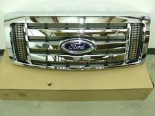 2010 2011 2012 Ford F150 Chrome Grille Grill 3 Bar New OEM Part 9L3Z 8200 D