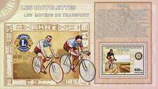 Bikes Bicycles Transportation Souvenir Sheet Mint Nh