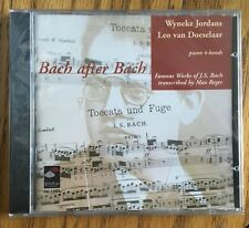 Bach After Bach (Famous Works of J.S. Bach transcribed by Max Reger) CD