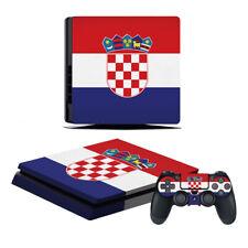 Playstation 4 Slim Konsole Designfolie Skin Schutzfolie Folie Kroatien