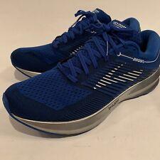 Brooks Levitate Running Shoes Blue Silver men's Size 11.5 M EUC