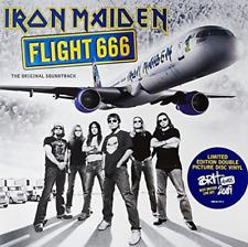 """Iron Maiden-Flight 666 Vinyl / 12"""" Album NEU"""