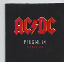"AC/DC ""Plug Me In"" 2 Track Bonus CD Cardsleeve RARE sealed"