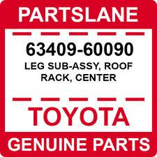 63409-60090 Toyota OEM Genuine LEG SUB-ASSY, ROOF RACK, CENTER