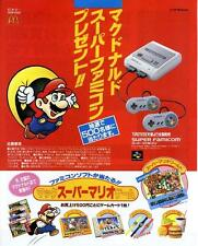 Super Famicom SFC MARIO TETRIS HATRIS Pipe Dream GAME MAGAZINE PROMO CLIPPING
