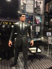 DC Direct  ARKHAM CITY BRUCE WAYNE action figure ships free in 24 hours!