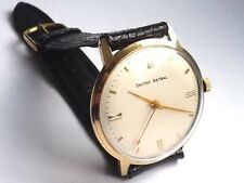 Gents Smiths Astral Made In England 9 Carat Gold London 1966 Wrist Watch