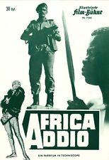 IFB 7345 | AFRICA ADDIO | Dokumentarfilm | Topzustand