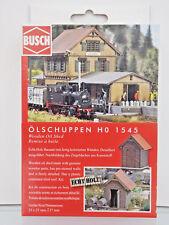 Busch 1545 - H0 Kit di costruzione - ölschuppen - NUOVO in scatola originale