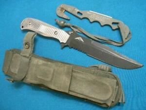 VINTAGE BENCHMADE USA 155PRESIDIO 154CM COMBAT FIGHTING SURVIVAL BOWIE KNIFE SET