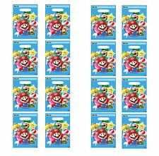 Super Mario Brothers Favor / Loot / Treat Bags Birthday Party Favor Supplies ~16