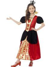Girls Miss Queen of Hearts Wonderland Kids Fancy Dress Costume Book Day Alice 10 - 12 Years 44458