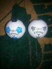 Callaway chrome soft truvis golf balls new set! Texas River Crest and The Hills.