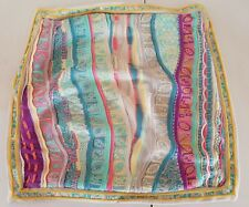 Coogi Casa Australia Merino Wool Decorative Throw 24x24 Colorful