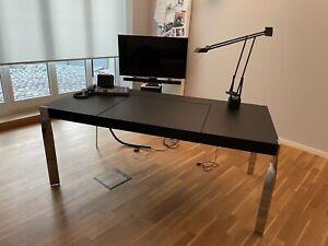Schreibtisch - Lederschreibtisch
