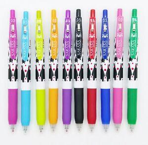 Zebra SARASA 0.5 X KUMAMON roller ball pen 10 colors (JJS15) 10pcs (C)