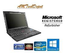 Lenovo ThinkPad X-201i 12.1 Core i3 390M 4GB Ram 250GB HDD Win 10 Pro 64-Bit