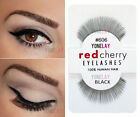 Pick Any 5 Pairs Lot AUTHENTIC RED CHERRY Human Hair Lashes False Eyelashes Lash