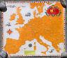 """Rare Ancienne Affiche """"Bière en Europe """" Brasserie LA MEUSE"""