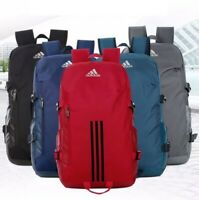 Large Blue & Black Adidas Classic Backpack Rucksack School,College, Gym,Work Bag
