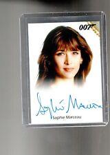 James Bond 2013 Autographs & Relic Sophie Marceau  auto card