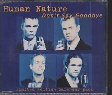 Human Nature - Dont Say Goodbye CD single