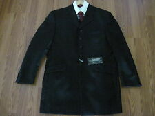 NWT Gerardo Mastellone. Made in Italy Men's Lined Black Jacket Size 50.ret $350