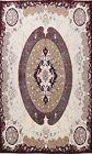 Victorian Style IVORY Aubusson Turkish Area Rug Home Decor Large Carpet 10x13 ft