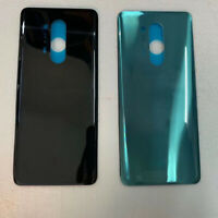 Replacement Glass Rear Back Door Cover Battery Case for Oneplus 8 pro Blue/Black