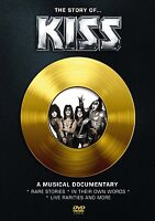KISS - THE STORY OF KISS  DVD NEU