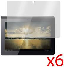 """Hellfire Trading 6x Sony S1 9.4"""" LCD Tablet Screen Protector Cover Guard & Cloth"""