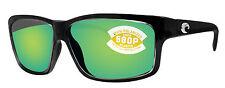 Costa Del Mar cut squall frame green mirror 580P plastic lens new